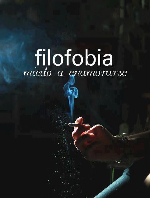 #Filofobia: Miedo a enamorarse. #Citas #Frases #Candidman