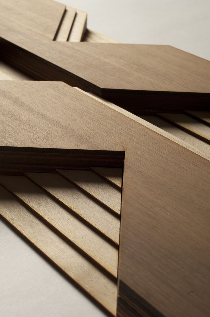 Atelier Anthony Roussel. Étagé wood tile, collection 01. Walnut & birch wood. #wood #surfacedesign #3dsurfacedesign #anthonyroussel #panelling #paneling #tile #woodtile #atelieranthonyroussel