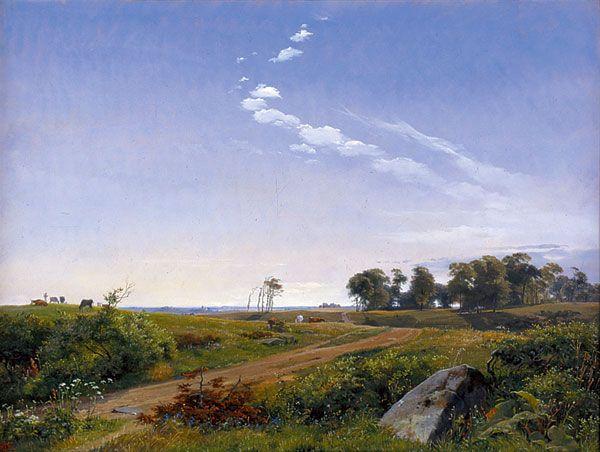 J. Th. Lundbye painting