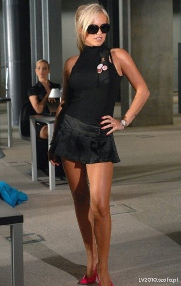 zdjęcie Spódniczka dody plisowana mini czarna w pełnej rozdzielczości