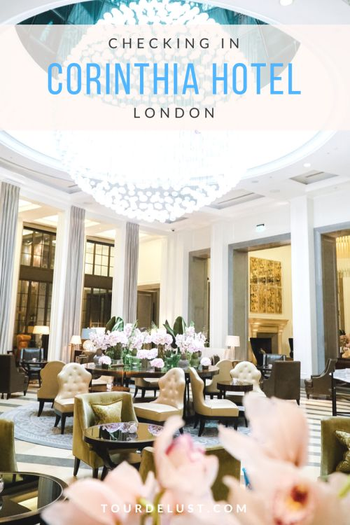 Luxury Hotel Review- Corinthia Hotel London