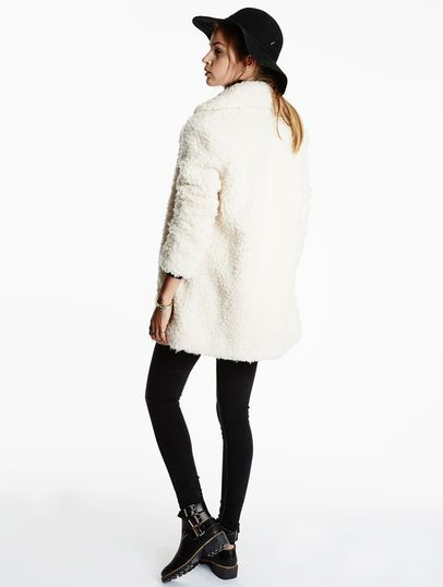 119 - faux-fur Pepe Jeans Cameron Cameron Mousse