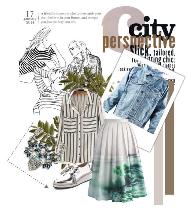 """City Fashy"" by tinaradu on Polyvore featuring Chicwish and Loeffler Randall"