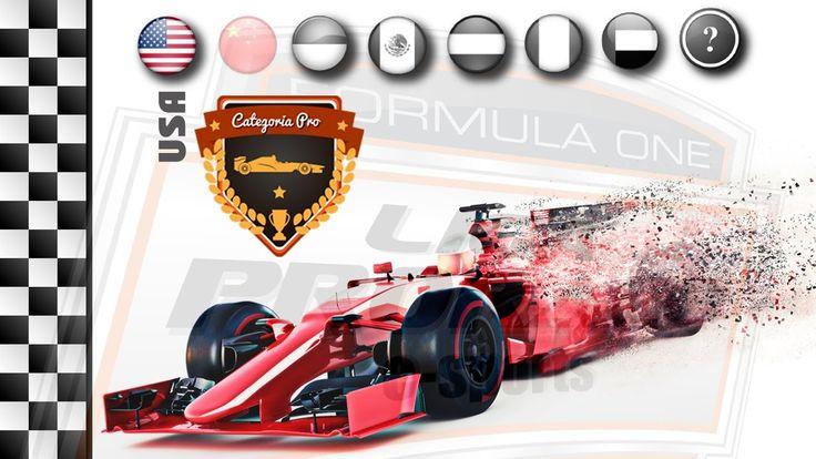FORMULA 1 AO VIVO - GP DO EUA - PS4 PRO - LIGA PRORACE E-SPORTS - NARRAÇ...