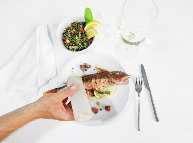 Baked Red Gurnard served with a Quinoa Tabouleh. Simple, healthy and delicious. Visit Jonny Hetherington Essentials website for this recipe and more.