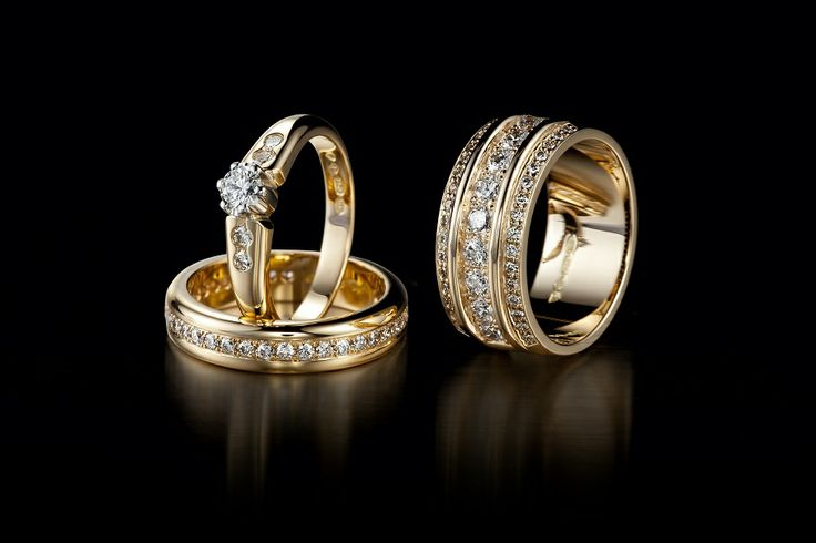 Oy Tillande Ab Diamond rings, http://www.tillander.fi/ #tillander #diamond #ring #rings #gold #wedding #engagement