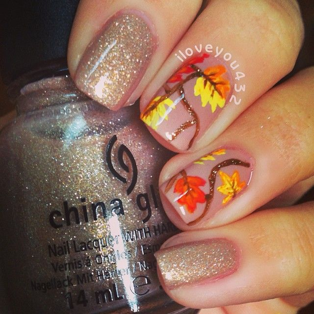 Fall Pedicure Designs: 298 Best Images About Fall / Thanksgiving Nails On