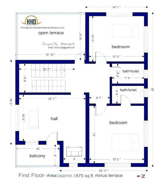 20 Unique 1000 Sq Ft House Plans 2 Bedroom Indian Style Gallery 1200sq Ft House Plans Small House Plans India Duplex House Plans
