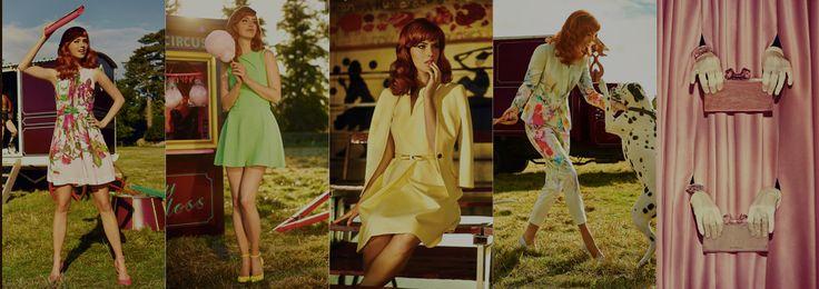 Slick fashion lookbook examples