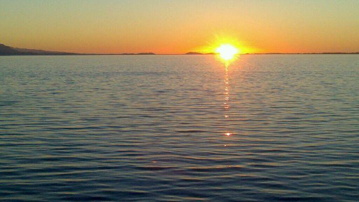 Sunset, Menidi Aitoloakarnanias, Greece