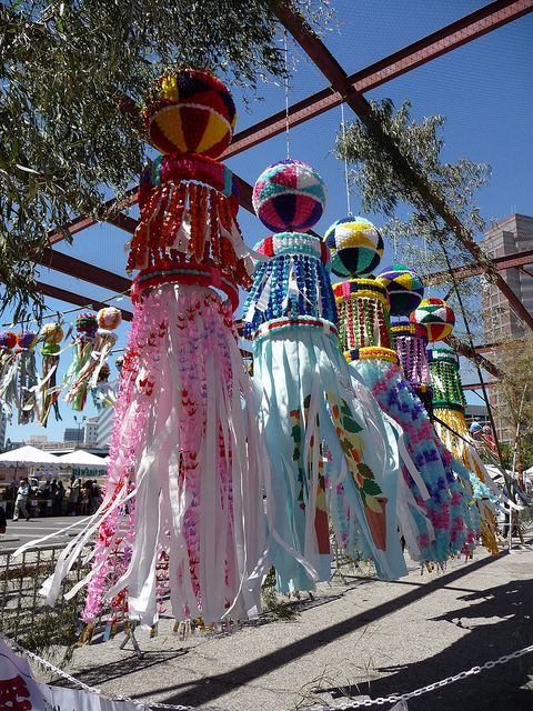 Tanabata 021 (by veralin319)  Tanabata streamer decorations
