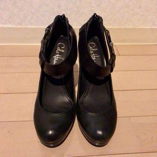 Cole Haan(コールハーン)の【美品】定価5万円Cole Haan黒パンプス レディースの靴/シューズ(ハイヒール/パンプス)の商品写真