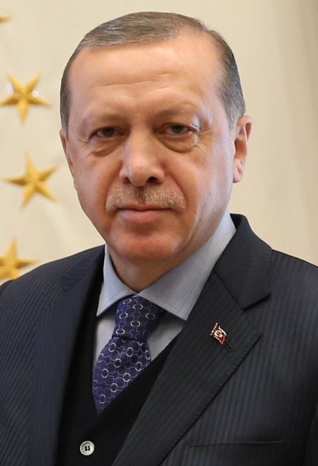 A Picture Of Recep Tayyip Erdoğan's Face