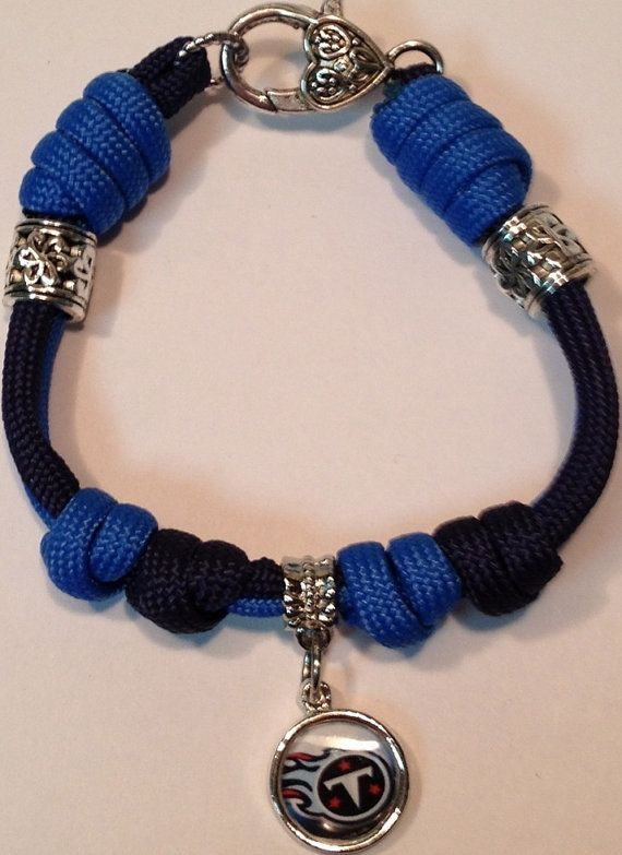 A more feminine approach to the typical Paracord Bracelets, This one of a kind parcord charm bracelet is weaved with colonial blue & gold paracord. Description from pinterest.com. I searched for this on bing.com/images