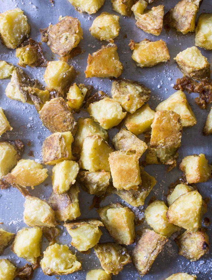 Easy, perfect crispy roast potatoes from Chelsea Winter