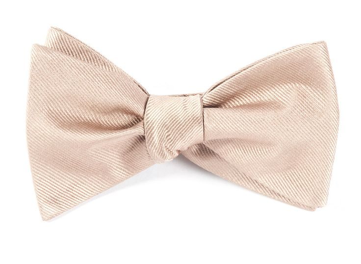 Self tie bow tie - Pink, red, blue & yellow flowers on champagne Notch