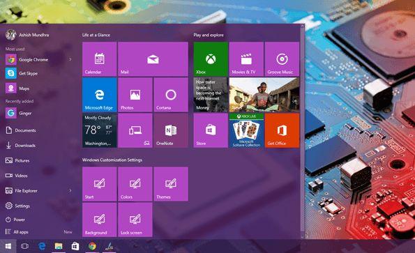 start menu windows 10 How to Customize the Windows 10 Start Menu the Way You Want Ads by Google