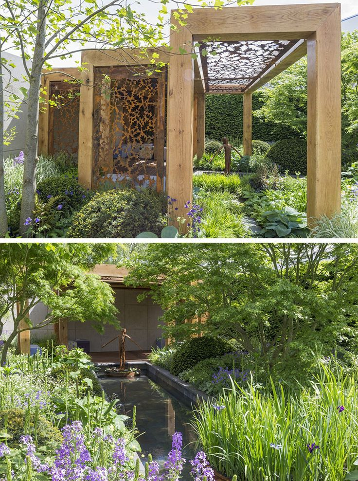 12 Inspirational Garden Designs From The 2016 Chelsea Flower Show // The Morgan Stanley Garden for Great Ormond Street Hospital, designed by Chris Beardshaw.