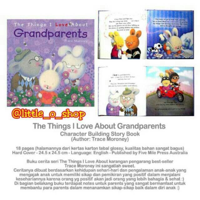 Saya menjual The Things I Love About Grandparents Story Book seharga Rp130.000. Dapatkan produk ini hanya di Shopee! http://shopee.co.id/littleoshop/1126569 #ShopeeID