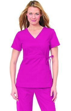 Katelyn Top Flamingo - Uniformes Medicos koi - Panama                                                                                                                                                                                 Más