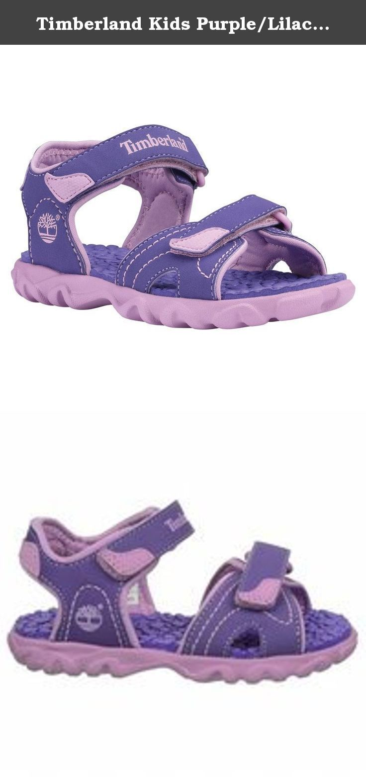 Timberland Kids Purple/Lilac Splashtown 2 Strap Sandal Tod 10.0 US Toddler. A lightweight EVA outsole provides durable, reliable traction, while your little adventurer can count on a healthy foot thanks to the Timberland Kids Splashtown 2-Strap Sandal�s Sanitized� antimicrobial treatment.