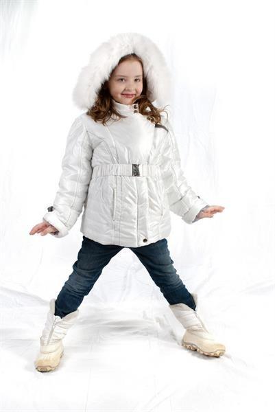 Зимняя одежда для детей куртка с мехом