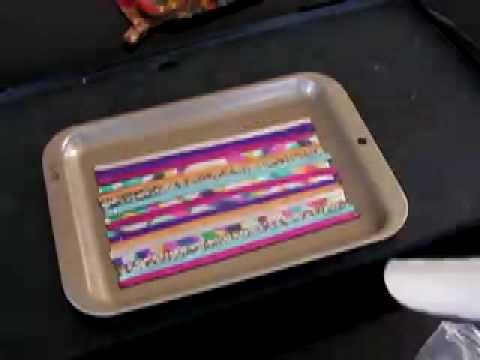 How to Fuse Friendly Plastic Strips - YouTube