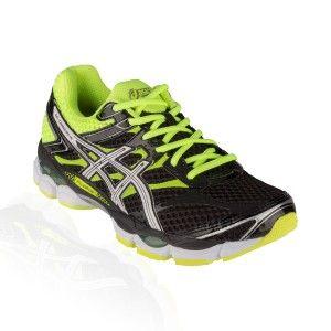 Asics - Gel Cumulus 16 Running Shoe - Black/White/Flash Yellow