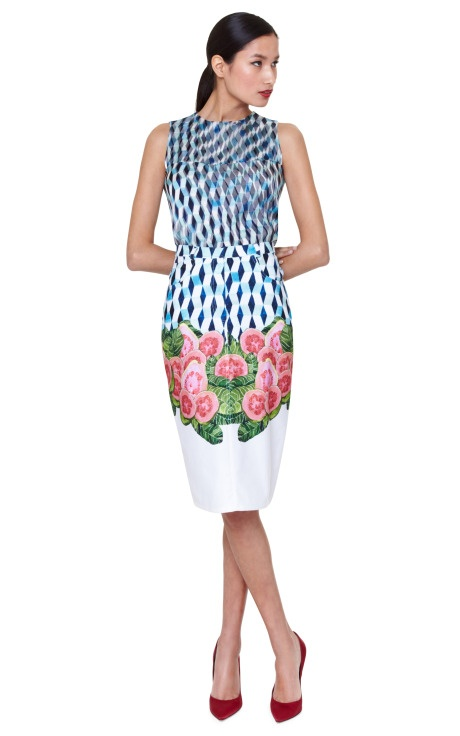 Shop 80's Skirt by Isolda Now Available on Moda Operandi