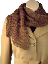 Light and airy scarf, perfect for spring. Free knitting pattern from Berroco.