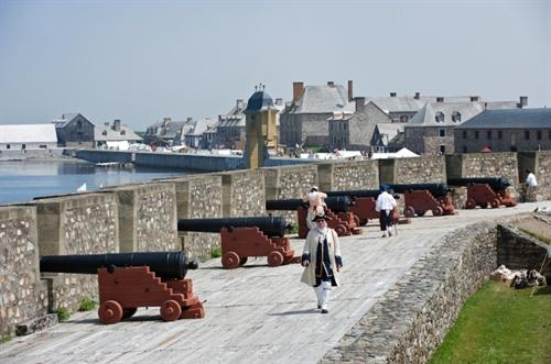 Fortress Louisbourg, Cape Breton Island...been there afew times!!