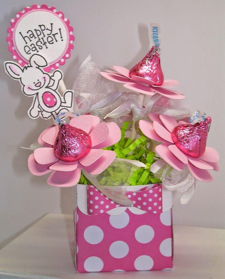 Hershey Kiss flower treats - bjl