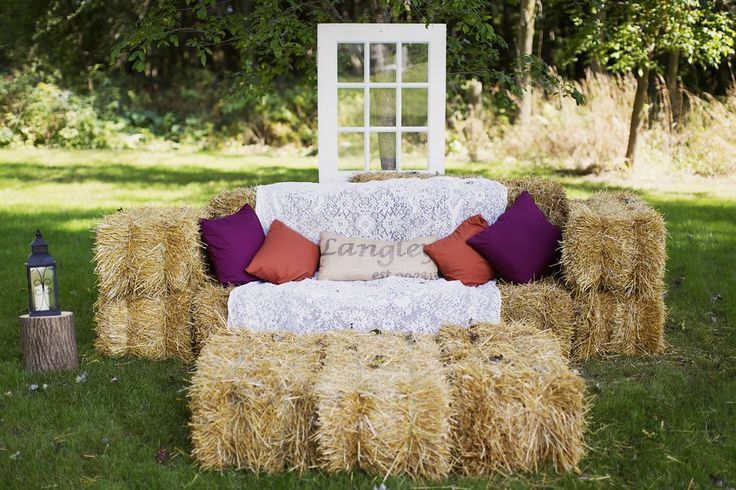 Hay Seating Idea