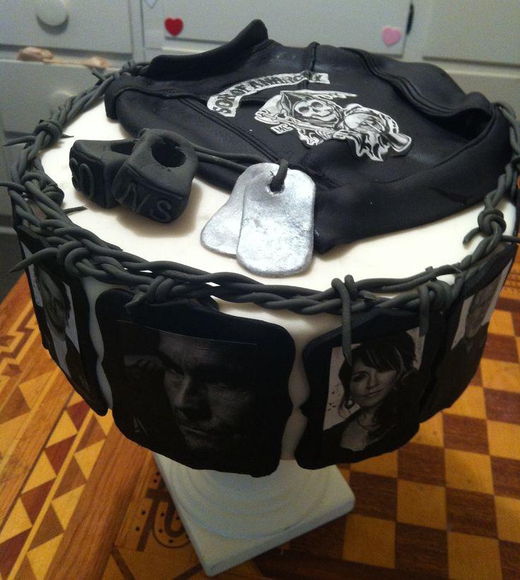Charlie Hunnam Birthday Cake