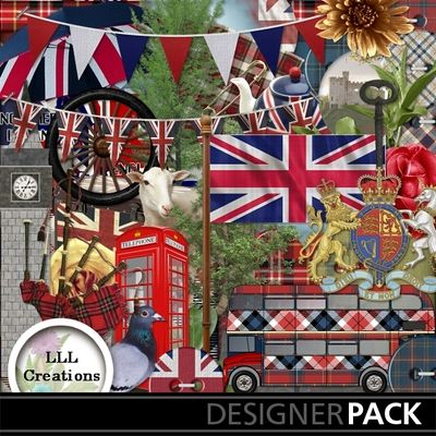 'United Kingdom' kit by LLL Creations. Come see all of the previews in the shop…
