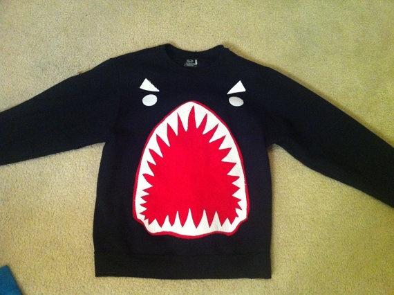 sharkface sweatshirt: Face Sweatshirts, Fashion, Sharks Shirts, Custom Sharkfac, Sharks Weeks, Sharkfac Sweatershirt, Sharks Sweatshirts, Sharks Face, Sharkfac Sweatshirts