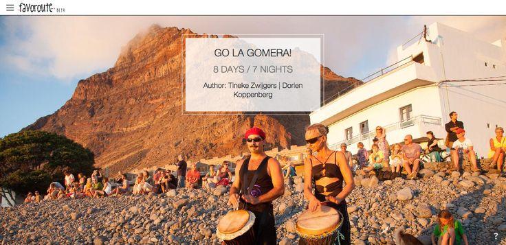 GO LA GOMERA! by Tineke Zwijgers and Dorien Koppenberg. http://www.peecho.com/print/en/72135