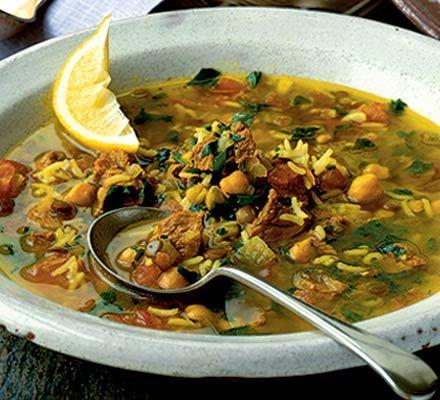 Moroccan Harira Soup    Tasty and easy Moroccan recipe
