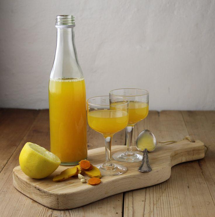 Ingefær/gurkemeje drik