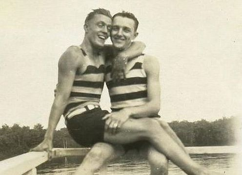LGBT History: Photos of Gay Couples From The 1880s – 1920s  #TBT