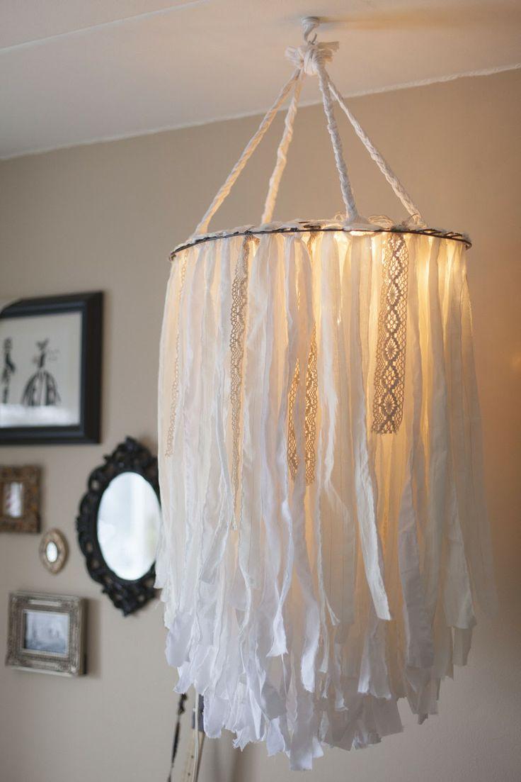 77 best wedding lighting ideas images on pinterest creative enjoy these handpicked handmade chandeliers ideas cloth chandelier arubaitofo Choice Image