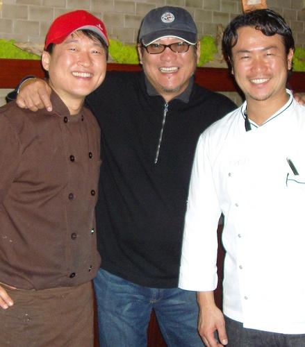 Chef Mun ~ Iron Chef Morimoto ~ Iron Chef Makoto ~ Los Angeles, Calif