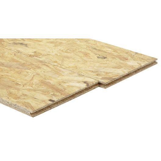 Dalle de plancher OSB 3 extérieur 248 x 60.50cm x ép. 18 mm