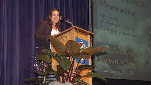 Winona LaDuke