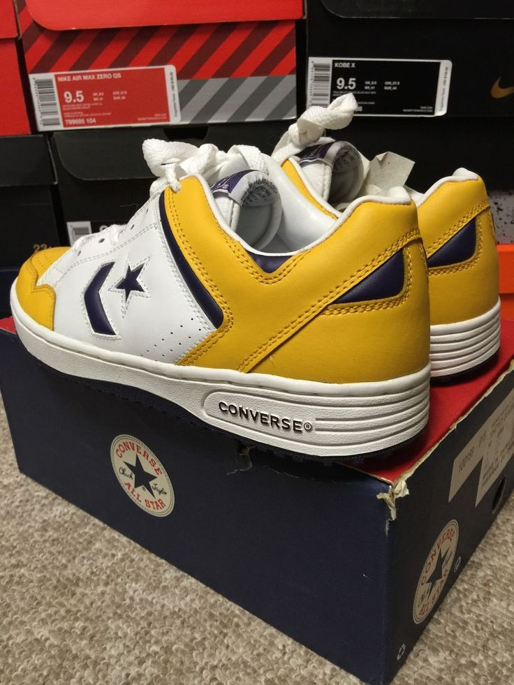 converse weapon lakers comprar
