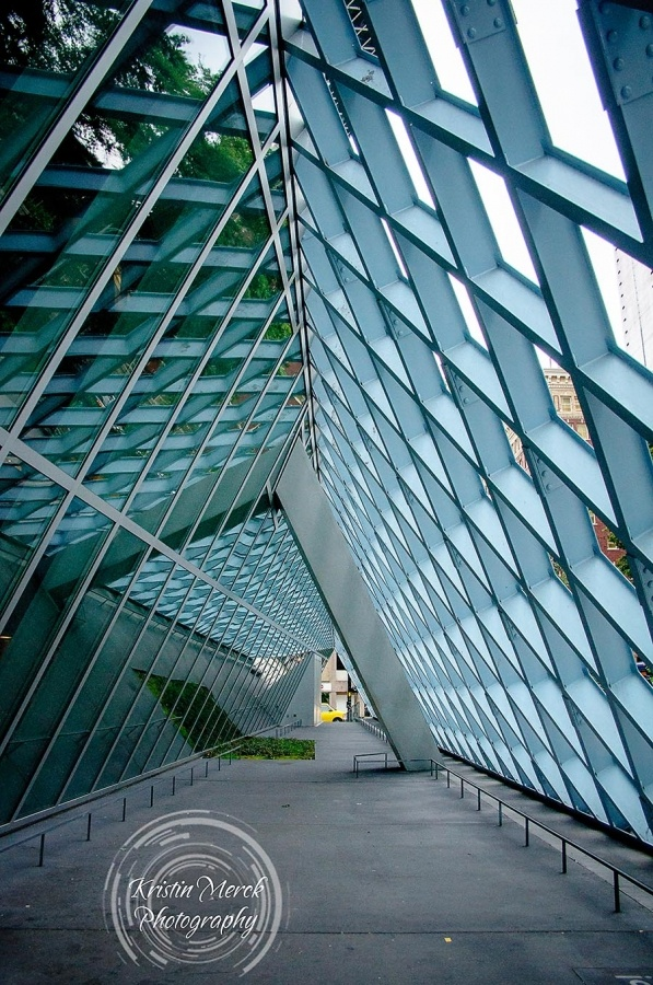 Beautiful Seattle Architecture - Seattle Public Library - Kristin Merck Photography, LLC