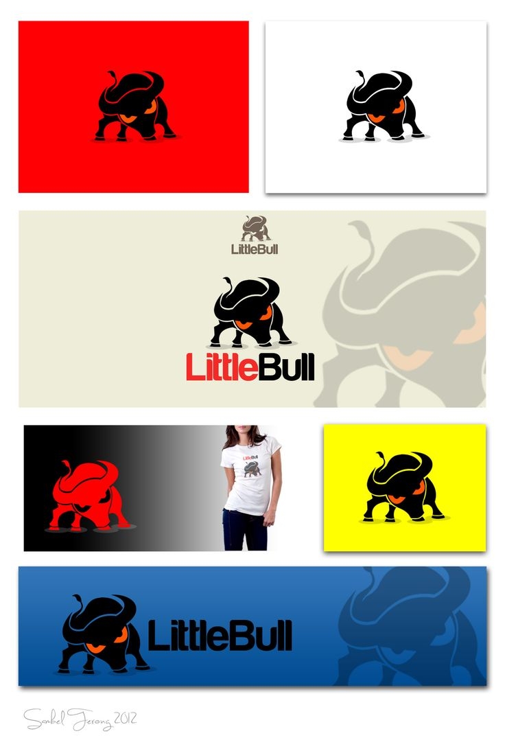 March 2012: Logo for LittleBull by Sambel Terong