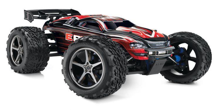Traxxas E-Revo 1/10 4WD Monster Truck W/ TQi 2.4GHz Radio & TSM Toy