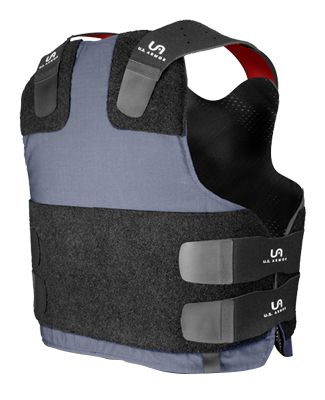 U.S. Armor | Enforcer TV - Terminal Velocity (Back) | Custom Fit Body Armor | You'll Wear It! | www.usarmor.com