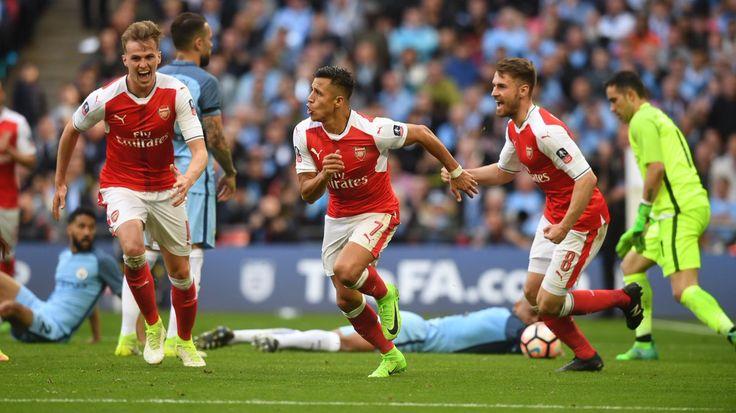 @TheArsenal #Alexis Sanchez #FACup #EmiratesFACup #AFCvMCFC #ARSMCI #Arsenal #Gunners #ArsenalFC #AFC #9ine